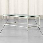 Era Rectangular Glass Coffee Table