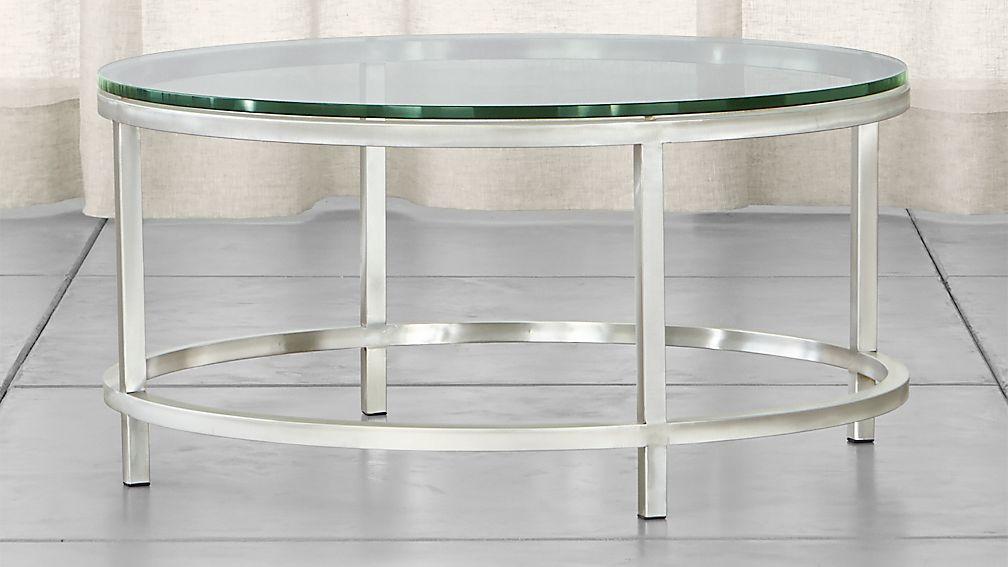 Era Round Glass Coffee Table - Image 1 of 10