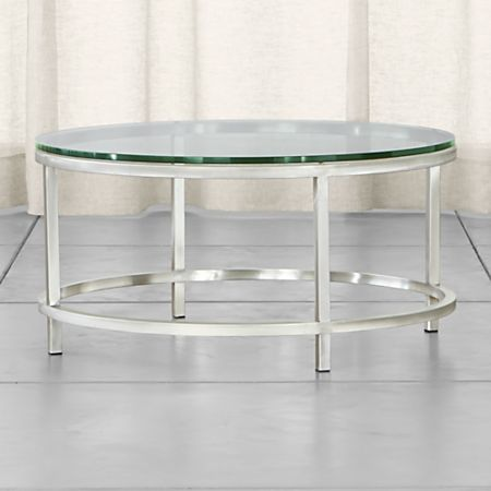Era Round Coffee Table Crate And Barrel Canada