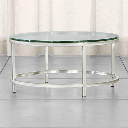 Era Round Gl Coffee Table