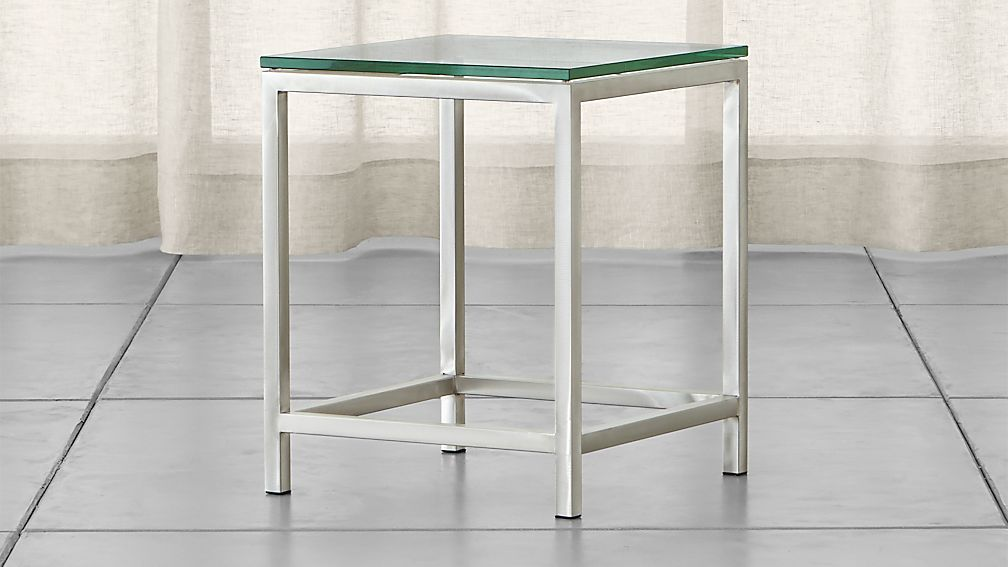 Era Glass Side Table - Image 1 of 12