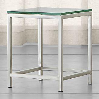 Incroyable Era Glass Side Table