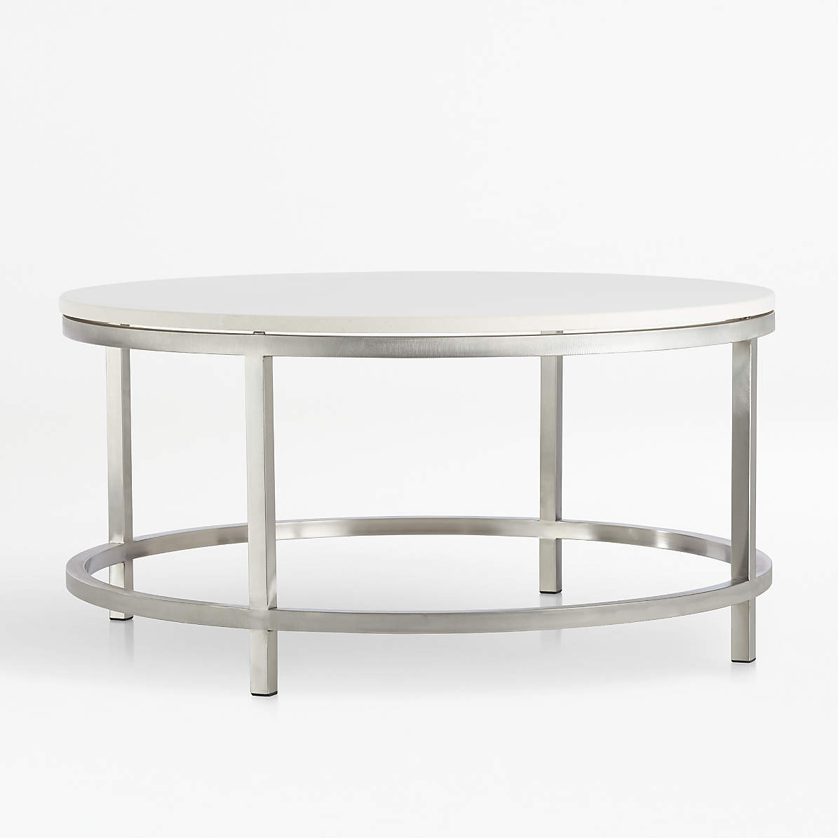 Era Limestone Round Coffee Table Reviews Crate And Barrel Canada