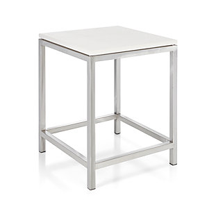 Era Limestone Side Table