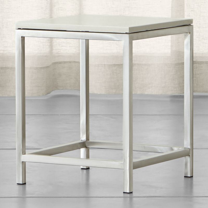 Square End Tables Crate and Barrel