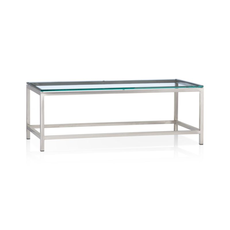 Era Rectangular Glass Coffee Table in Coffee Tables Reviews