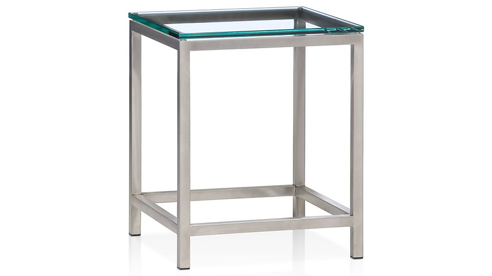 ... Era Glass Side Table ...