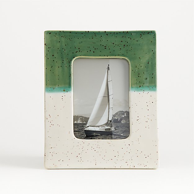 Esme 4x6 Ceramic Picture Frame - Image 1 of 4