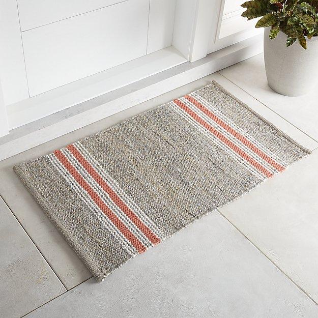 Espen Orange Indoor/Outdoor Rug 2'x3' - Image 1 of 4