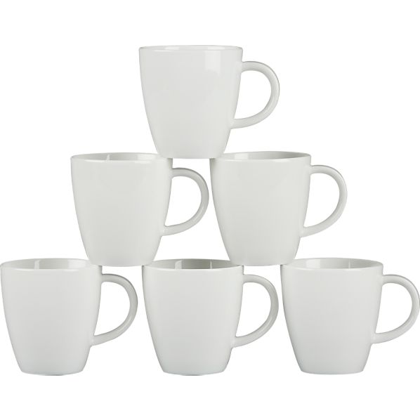 Set of 6 Espresso 3 oz. Cups