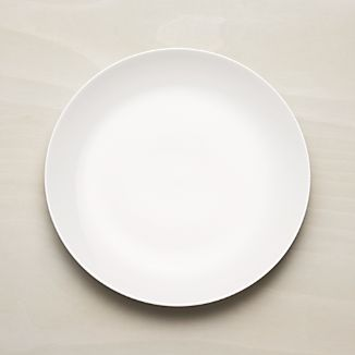 Essential Dinner Plate & Coupe Plates   Crate and Barrel