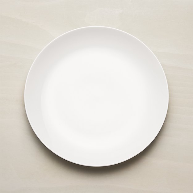 essential dinner plate + reviews   crate and barrel