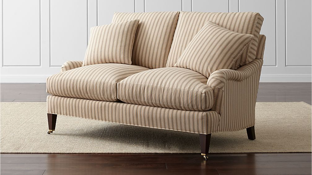 Essex Loveseat with Casters