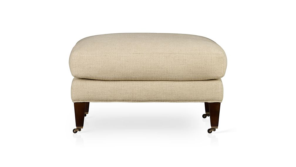 Essex Ottoman with Casters