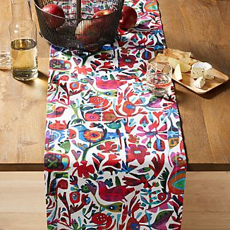 Floral Table Runners Crate And Barrel