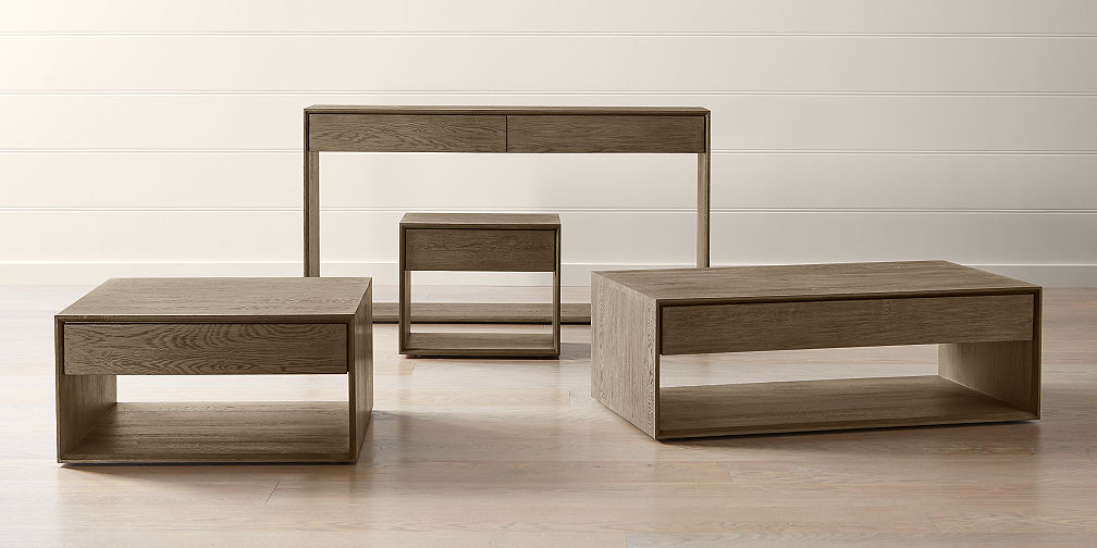 Accent Table Collections. Ethan Tables & Accent Table Sets | Crate and Barrel
