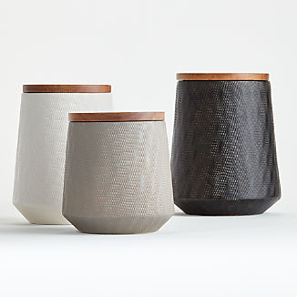Ethan Ceramic Canisters