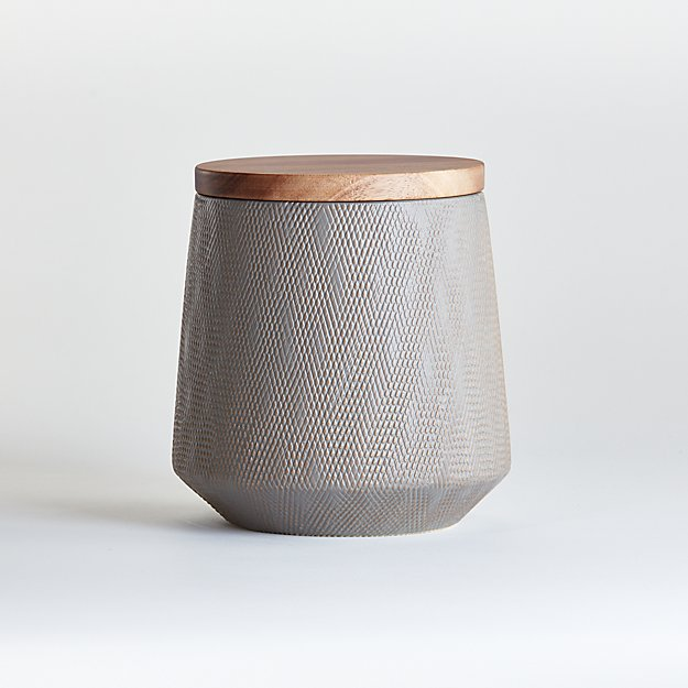 Ethan Small Taupe Canister - Image 1 of 4