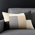 Ethan 22 x15  Pillow with Feather-Down Insert