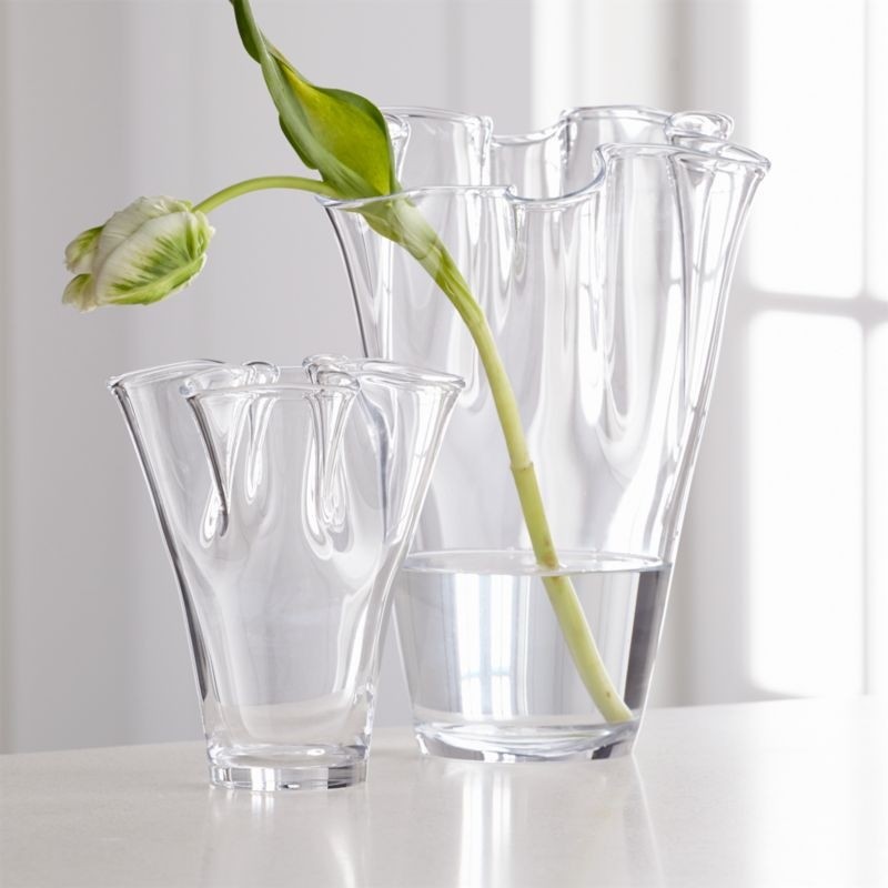 Evelyn Vases by Crate&Barrel