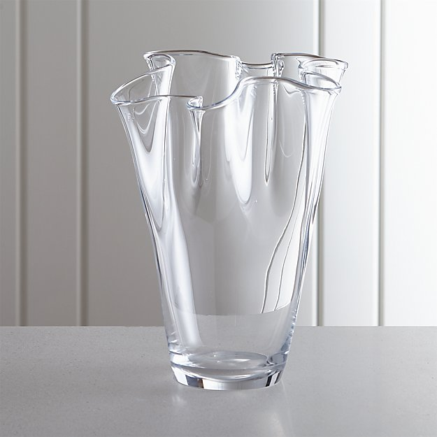 Evelyn Large Vase Reviews Crate And Barrel