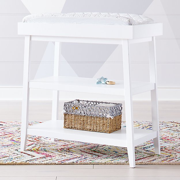 Ever Simple White Changing Table - Image 1 of 6