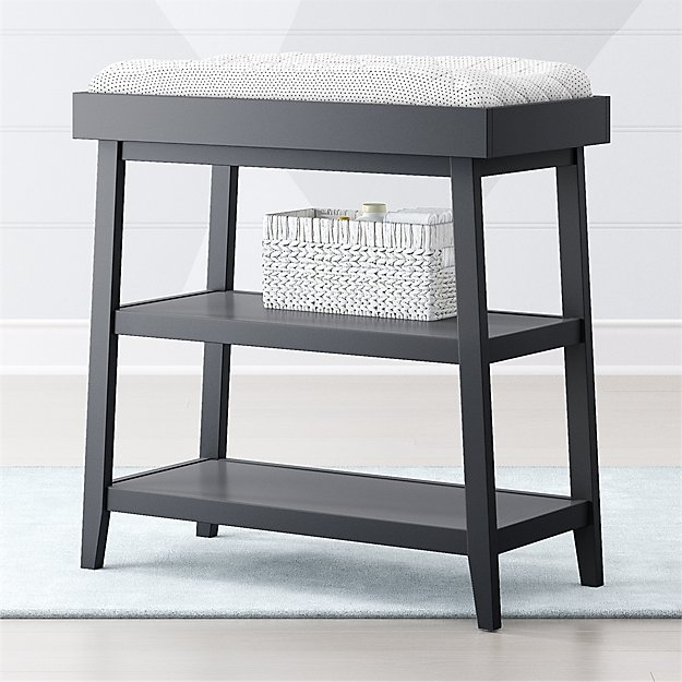 Ever Simple Charcoal Changing Table - Image 1 of 4