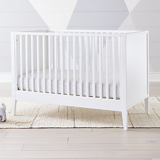 Ever Simple White Crib