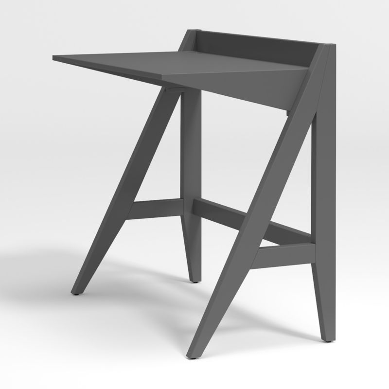 Kids Ever Simple Small Charcoal Desk