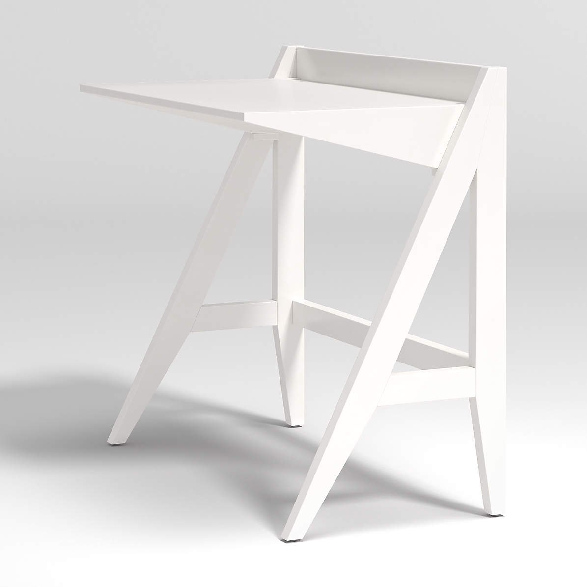 Kids Ever Simple White Small Desk Reviews Crate And Barrel