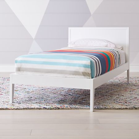 Ever Simple White Twin Bed Reviews