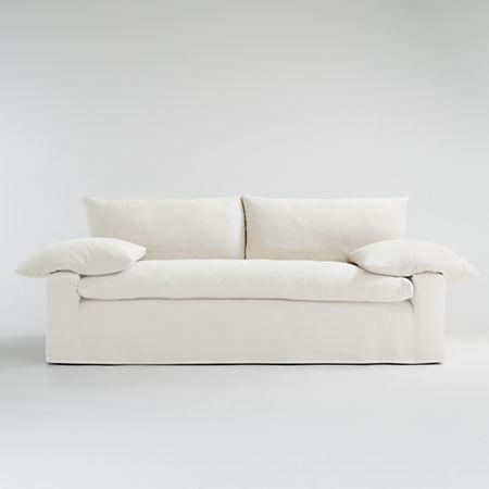 Ever Slipered Sofa Crate And Barrel