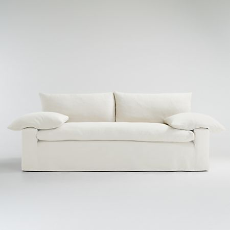 Ever Sofa Slipcover Only Crate And Barrel
