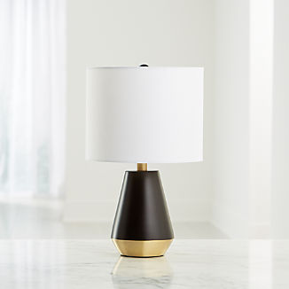 Everett Bronze And Brass Table Lamp