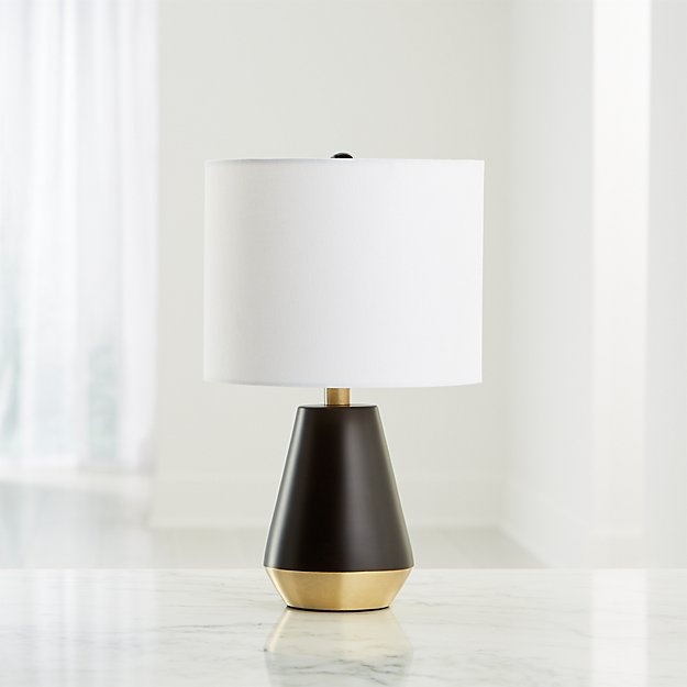 Everett Bronze And Brass Table Lamp - Image 1 of 5