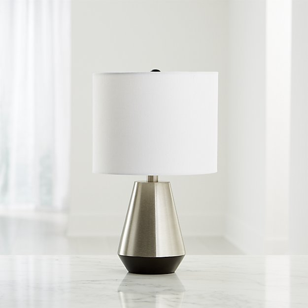 Everett Bronze And Nickel Table Lamp - Image 1 of 4
