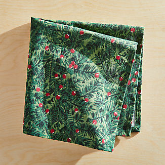 Evergreen Berries Napkin