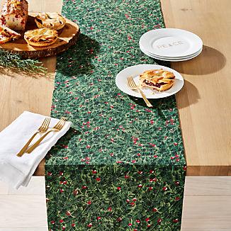 Evergreen Berries Table Runner