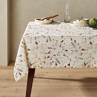Everly Multi Leaf Tablecloth