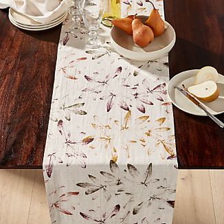 "Everly 90"" Multi Leaf Table Runner"