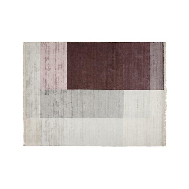 Evia Faux Silk Rug 9'x12' - Image 1 of 3