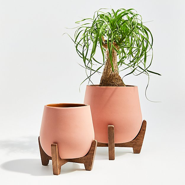Evie Planters with Stands - Image 1 of 2