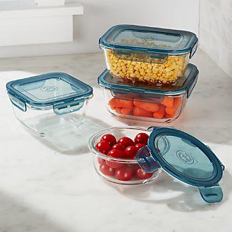 Evolution ® 4-Piece Glass Storage Set
