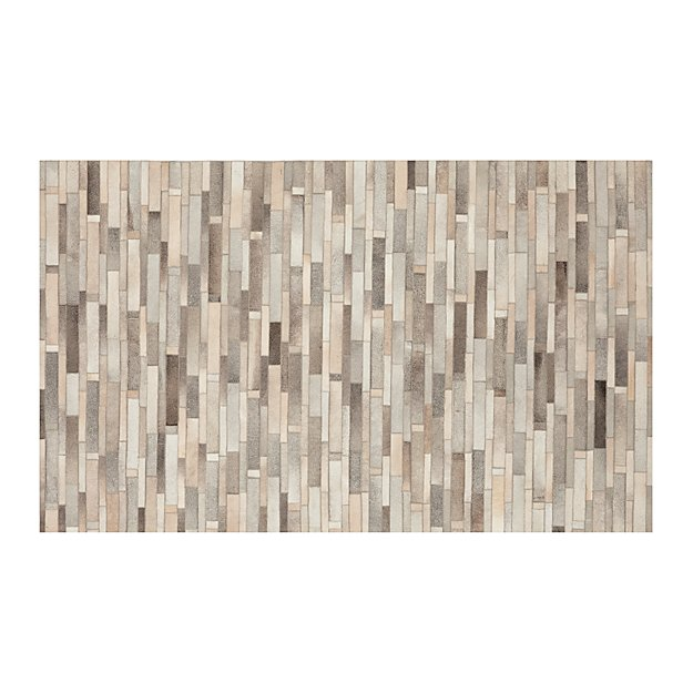 Ewing Striped Cowhide 5'x8' Rug