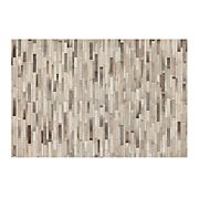 Ewing Striped Cowhide 6'x9' Rug