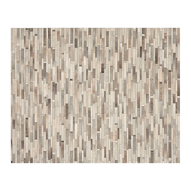 Ewing Striped Cowhide 8'x10' Rug