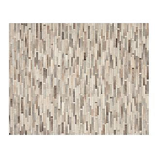 Ewing Striped Cowhide 8u0027x10u0027 Rug