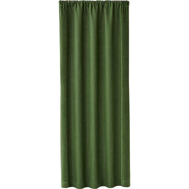 Ezria Green Linen Curtain Panel 48x96 Reviews