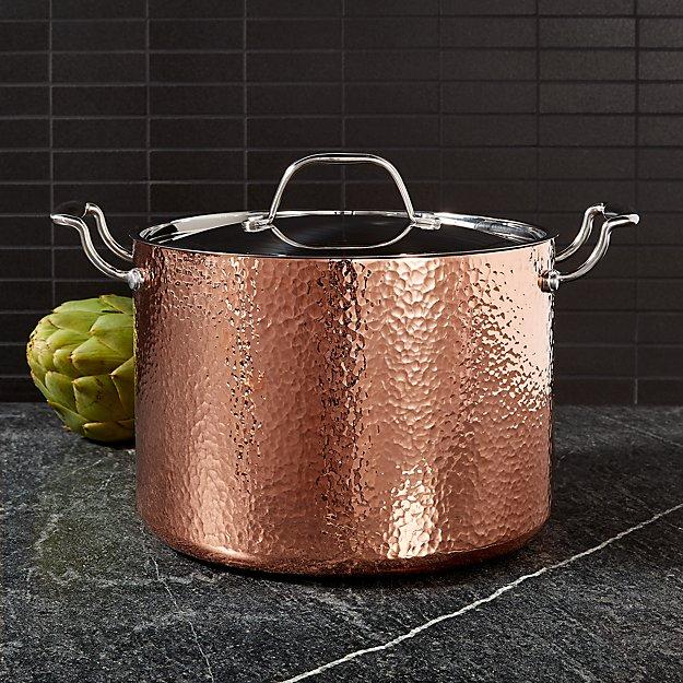 Fleischer And Wolf Seville Hammered Copper 8 Qt Stockpot Reviews