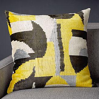"""Fabia Silk Velvet Pillow 23"""""""